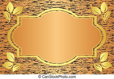 vector beige card with abstract texture