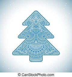 Vector christmas invitation card.