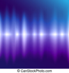 Vector Colorful Abstract Background With Lights