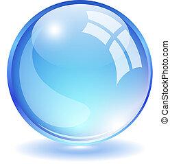 Vector glass ball