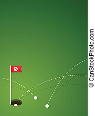 vector Golf design background