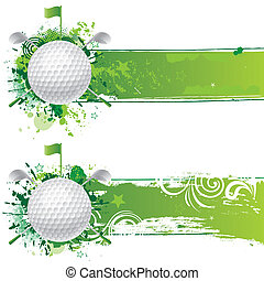 vector golf design element