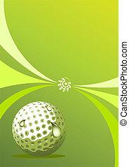 Vector golf design