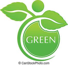 Vector Green People