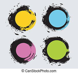 Vector illustration (eps 10) of Spot set