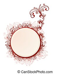 Vector illustration of a frame with