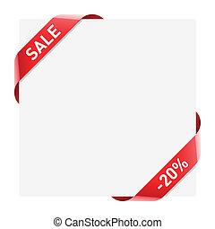 Sale ribbon