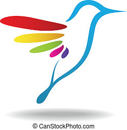 Vector illustration of Bird icon