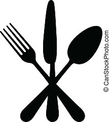 Vector illustration of cutlery