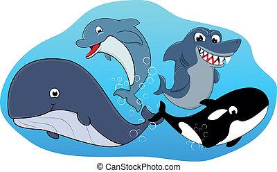 Sea Mammal Set