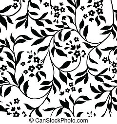 Vector repeating ivy pattern. Swatch is included for easily creating large fills.