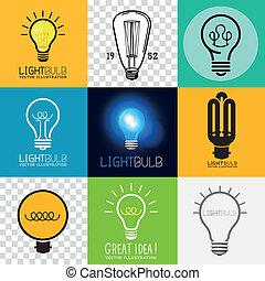 Vector Lightbulb Collection