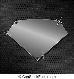 Vector Metal Shield