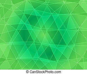Vector, multicolor geometric background. Triangles, triangulation. Geometric mosaic, colored triangles, application in origami style. Abstract background for web. Abstract geometric triangle backgroun