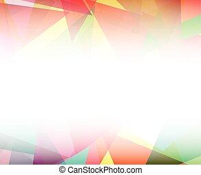Vector polygon abstract backgroun