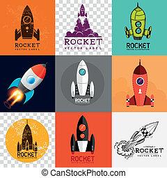 Vector Rocket Collection