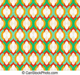 Vector seamless Moroccan pattern.