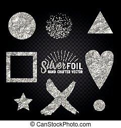Vector Silver Foil Collection