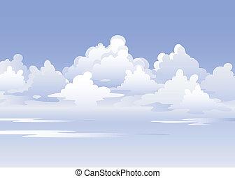 Vector Sky. EPS 8, AI