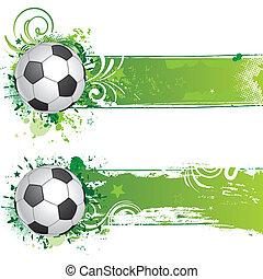 vector soccer design element