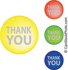 """vector """"thank you"""""""