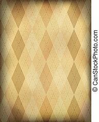 Vintage checkered background vertical. Vector, EPS10