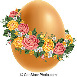 Vintage Easter egg