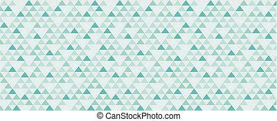 Vintage geometric banner