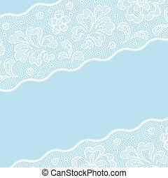 Vintage lace background ornamental flowers, invitation card.
