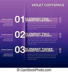 Violet Copyspace