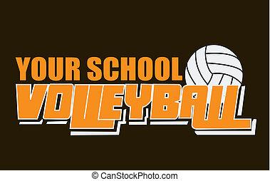 Volleyball spirit wear
