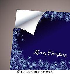 wallpaper paper curl christmas
