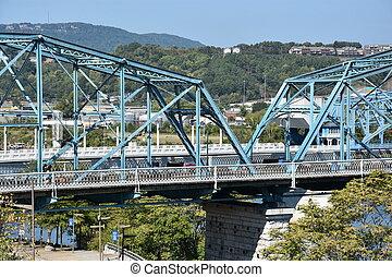 Walnut Street Bridge in Chattanooga