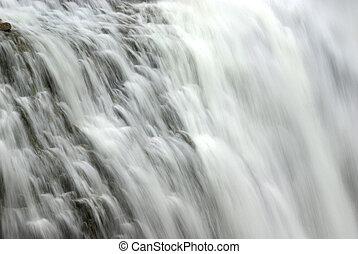 Waterfall abstract