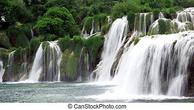 Waterfalls in Croatia