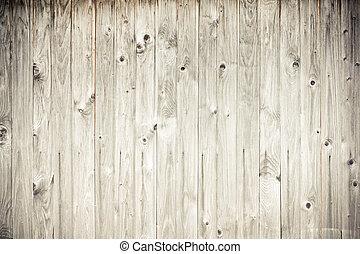 weathered wood plank fence