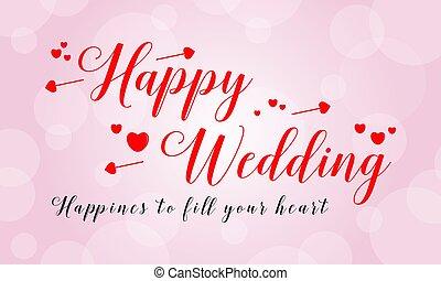 Wedding card design theme