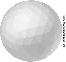 Creative design of white ball