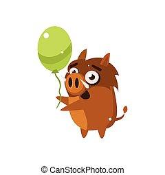 Wild Pig Party Animal Icon