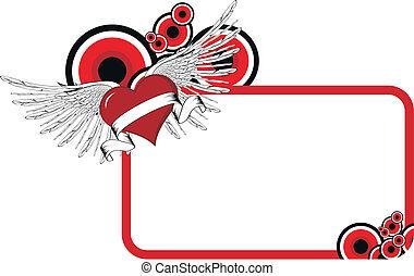 wingedheart copyspace