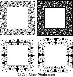 Zen Tangle Frames